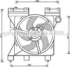 Вентилятор AVA CN7547