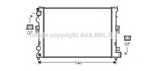 Радиатор AVA CNA2078