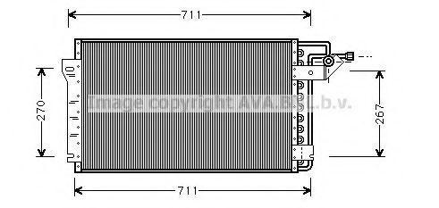 Конденсатор, кондиционер AVA CT5009