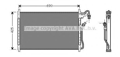 Конденсатор, кондиционер AVA CT5013