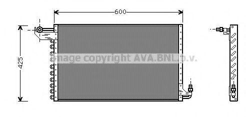 Конденсатор, кондиционер AVA CT5018
