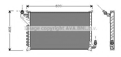 Конденсатор, кондиционер AVA CT5021