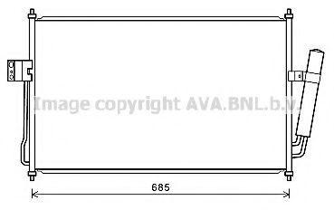 Конденсатор, кондиционер AVA CT5057D