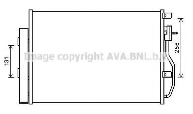 Конденсатор, кондиционер AVA CTA5048D