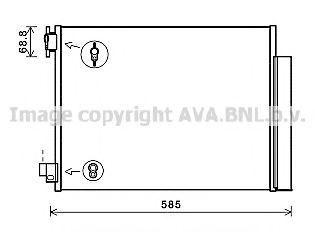 Конденсатор, кондиционер AVA DA5011D