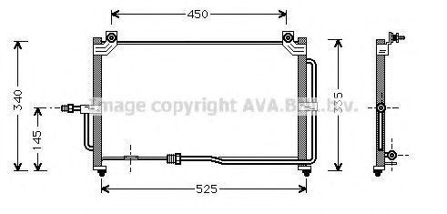 Конденсатор, кондиционер AVA DW5028