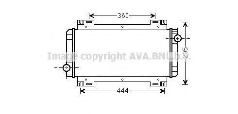 Радиатор охлаждения AVA FD2044