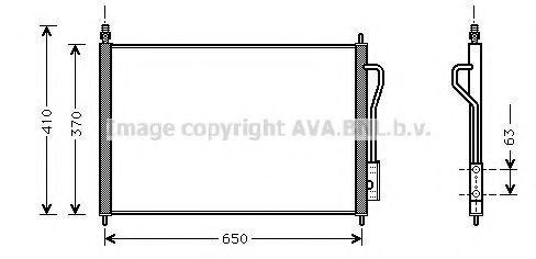 Радиатор кондиционера AVA FD5268