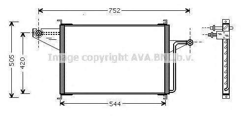 Конденсатор, кондиционер AVA FD5305