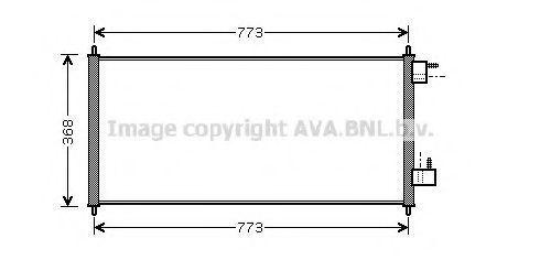 Конденсор кондиционера AVA FDA5361