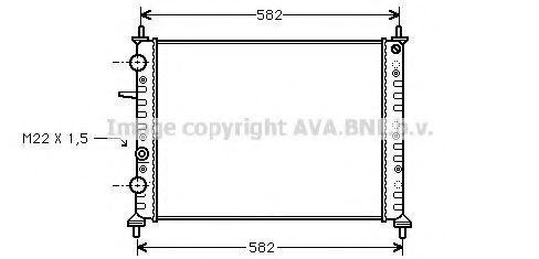 Радиатор охлаждения AVA FT2161