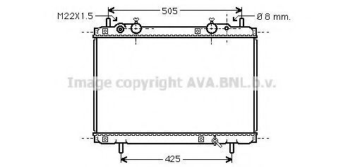 Радиатор охлаждения AVA FT2180