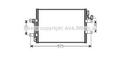 Конденсатор, кондиционер AVA FT5393