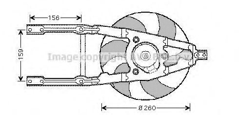 Вентилятор AVA FT7107