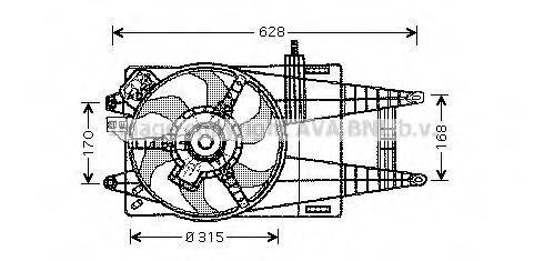 Вентилятор AVA FT7524