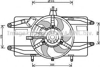 Вентилятор AVA FT7555