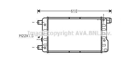 Радиатор охлаждения AVA FTA2115