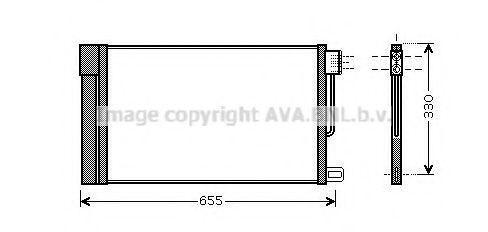 Конденсатор, кондиционер AVA FTA5314D