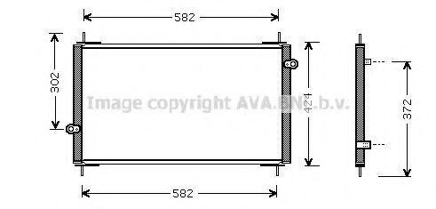 Конденсатор, кондиционер AVA HD5112