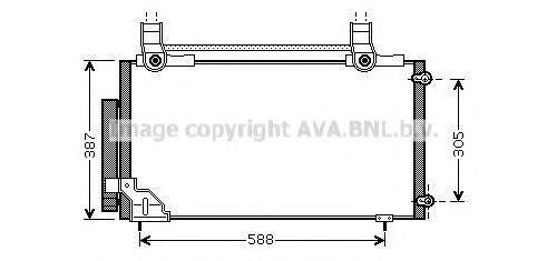 Конденсатор, кондиционер AVA HDA5186D