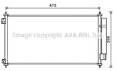 Конденсатор, кондиционер AVA HDA5282D