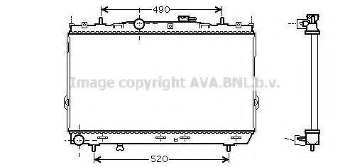 Радиатор охлаждения AVA HY2095
