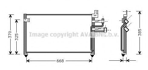 Конденсатор, кондиционер AVA HY5070