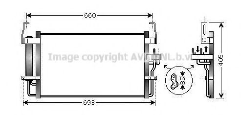 Конденсатор, кондиционер AVA HY5092D