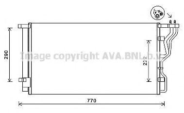 Конденсатор, кондиционер AVA HY5298D