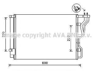 Конденсатор, кондиционер AVA HY5299D