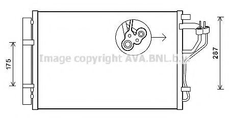 Конденсатор, кондиционер AVA HYA5308D