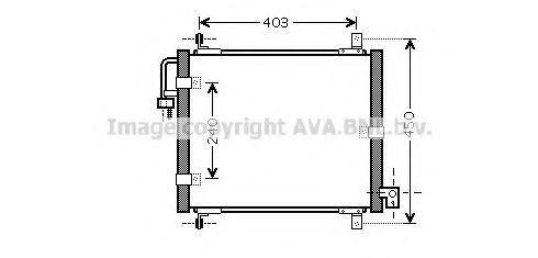 Конденсатор, кондиционер AVA KA5101
