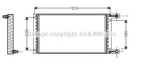 Конденсатор, кондиционер AVA LC5060