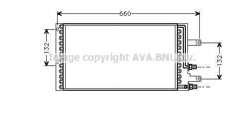 Конденсатор, кондиционер AVA LC5061