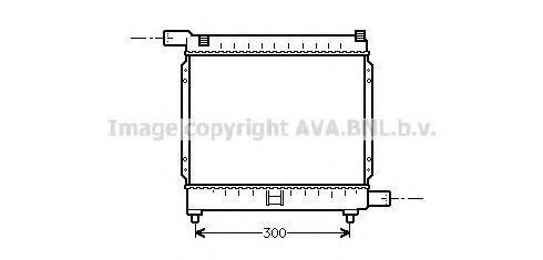 Радиатор охлаждения AVA MS2039