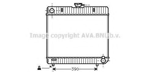Радиатор охлаждения AVA MS2042