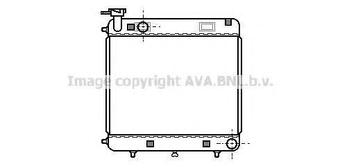 Радиатор охлаждения AVA MSA2085