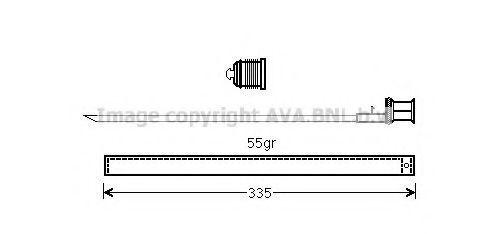 Осушитель кондиционера AVA MSD601