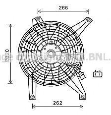 Вентилятор радиатора AVA MT7528