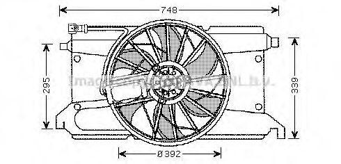 Вентилятор AVA MZ7538