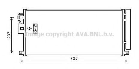 Конденсатор, кондиционер AVA OL5638D