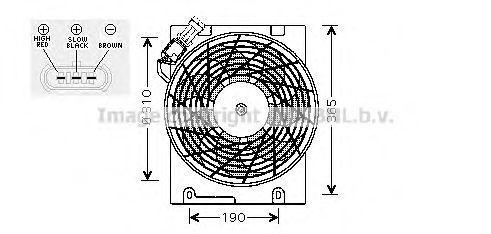 Вентилятор AVA OL7508