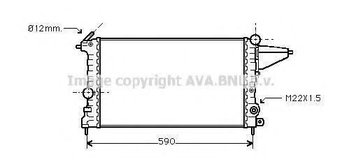 Радиатор охлаждения AVA OLA2161