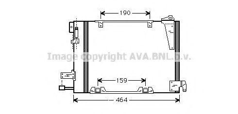 Радиатор кондиционера AVA OLA5250
