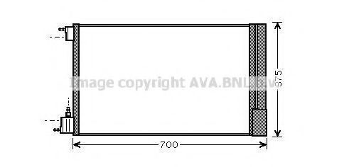 Конденсатор, кондиционер AVA OLA5478D