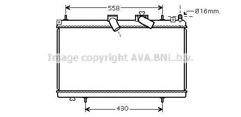 Радиатор охлаждения AVA PE2296