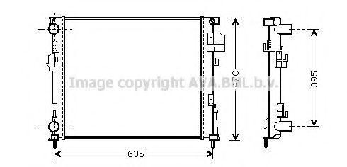 Радиатор охлаждения AVA RT2303