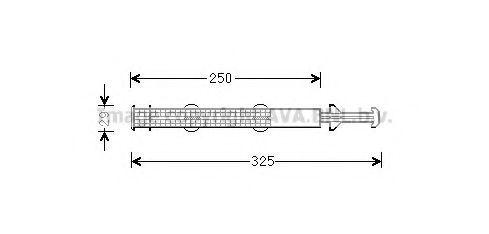 Осушитель, кондиционер AVA STD043