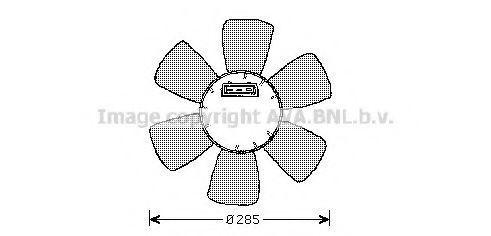 Вентилятор радиатора AVA VW7523