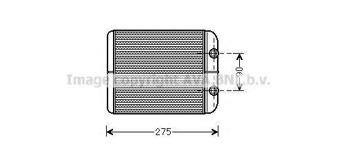 Радиатор отопителя AVA VWA6301